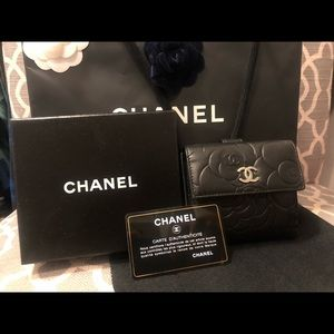 CHANEL Bags - Authentic Small Channel Camellia wallet (preloved)